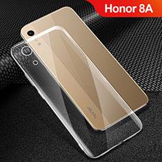 Custodia Silicone Trasparente Ultra Sottile Morbida T06 per Huawei Honor 8A Chiaro