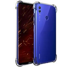 Custodia Silicone Trasparente Ultra Sottile Morbida T06 per Huawei Honor Note 10 Chiaro