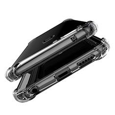 Custodia Silicone Trasparente Ultra Sottile Morbida T06 per Huawei Mate 20 Lite Chiaro