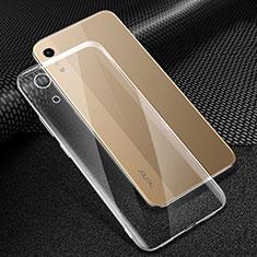 Custodia Silicone Trasparente Ultra Sottile Morbida T06 per Huawei Y6s Chiaro