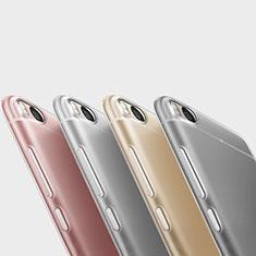 Custodia Silicone Trasparente Ultra Sottile Morbida T06 per Xiaomi Mi 5S Chiaro