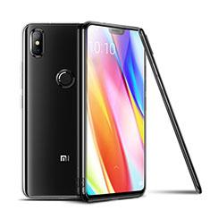 Custodia Silicone Trasparente Ultra Sottile Morbida T06 per Xiaomi Mi 8 Chiaro