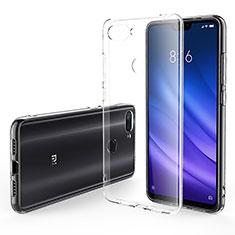 Custodia Silicone Trasparente Ultra Sottile Morbida T06 per Xiaomi Mi 8 Lite Chiaro