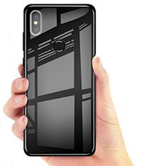 Custodia Silicone Trasparente Ultra Sottile Morbida T06 per Xiaomi Mi 8 Nero