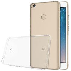 Custodia Silicone Trasparente Ultra Sottile Morbida T06 per Xiaomi Mi Max 2 Chiaro