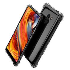 Custodia Silicone Trasparente Ultra Sottile Morbida T06 per Xiaomi Mi Mix Evo Chiaro