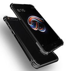 Custodia Silicone Trasparente Ultra Sottile Morbida T06 per Xiaomi Mi Note 3 Chiaro