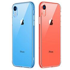 Custodia Silicone Trasparente Ultra Sottile Morbida T07 per Apple iPhone XR Chiaro