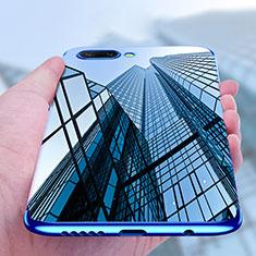 Custodia Silicone Trasparente Ultra Sottile Morbida T07 per Huawei Honor 10 Blu