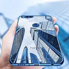 Custodia Silicone Trasparente Ultra Sottile Morbida T07 per Huawei Honor 7X Chiaro