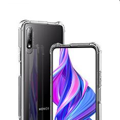 Custodia Silicone Trasparente Ultra Sottile Morbida T07 per Huawei Honor 9X Chiaro