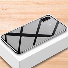 Custodia Silicone Trasparente Ultra Sottile Morbida T07 per Xiaomi Mi 8 Pro Global Version Chiaro