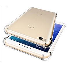 Custodia Silicone Trasparente Ultra Sottile Morbida T07 per Xiaomi Mi Max 2 Chiaro