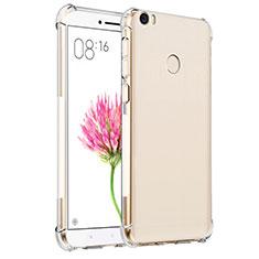Custodia Silicone Trasparente Ultra Sottile Morbida T07 per Xiaomi Mi Max Chiaro