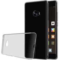 Custodia Silicone Trasparente Ultra Sottile Morbida T07 per Xiaomi Mi Note 2 Grigio