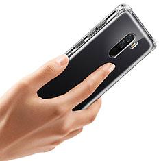 Custodia Silicone Trasparente Ultra Sottile Morbida T07 per Xiaomi Pocophone F1 Chiaro
