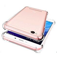 Custodia Silicone Trasparente Ultra Sottile Morbida T07 per Xiaomi Redmi 4A Chiaro