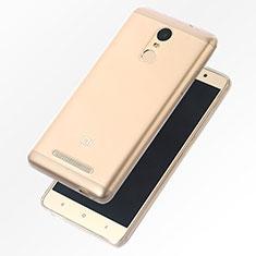 Custodia Silicone Trasparente Ultra Sottile Morbida T07 per Xiaomi Redmi Note 4 Standard Edition Chiaro