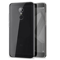 Custodia Silicone Trasparente Ultra Sottile Morbida T07 per Xiaomi Redmi Note 4X High Edition Chiaro