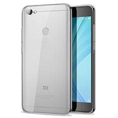 Custodia Silicone Trasparente Ultra Sottile Morbida T07 per Xiaomi Redmi Note 5A Prime Chiaro