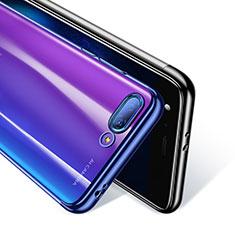 Custodia Silicone Trasparente Ultra Sottile Morbida T08 per Huawei Honor 10 Blu