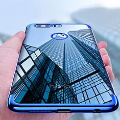 Custodia Silicone Trasparente Ultra Sottile Morbida T08 per Huawei Honor 8 Chiaro