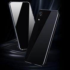 Custodia Silicone Trasparente Ultra Sottile Morbida T08 per Huawei Y6 (2019) Chiaro