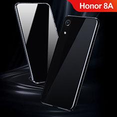 Custodia Silicone Trasparente Ultra Sottile Morbida T08 per Huawei Y6 Pro (2019) Chiaro