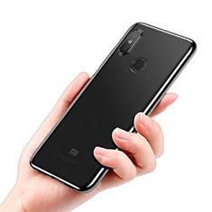 Custodia Silicone Trasparente Ultra Sottile Morbida T08 per Xiaomi Mi 8 Chiaro