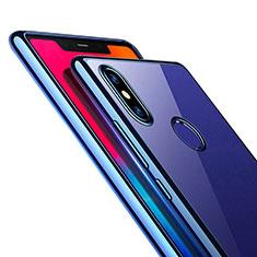 Custodia Silicone Trasparente Ultra Sottile Morbida T08 per Xiaomi Mi 8 SE Blu