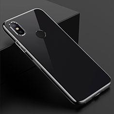 Custodia Silicone Trasparente Ultra Sottile Morbida T08 per Xiaomi Mi Mix 3 Chiaro