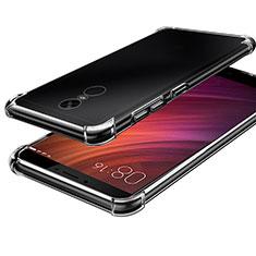 Custodia Silicone Trasparente Ultra Sottile Morbida T08 per Xiaomi Redmi Note 4 Chiaro