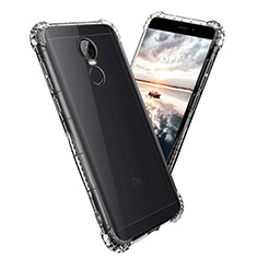 Custodia Silicone Trasparente Ultra Sottile Morbida T08 per Xiaomi Redmi Note 4X Chiaro