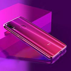 Custodia Silicone Trasparente Ultra Sottile Morbida T08 per Xiaomi Redmi Note 7 Chiaro
