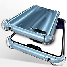 Custodia Silicone Trasparente Ultra Sottile Morbida T09 per Huawei Honor 10 Chiaro