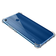 Custodia Silicone Trasparente Ultra Sottile Morbida T09 per Huawei Y6 (2019) Chiaro