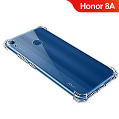 Custodia Silicone Trasparente Ultra Sottile Morbida T09 per Huawei Y6 Prime (2019) Chiaro