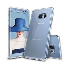 Custodia Silicone Trasparente Ultra Sottile Morbida T09 per Samsung Galaxy S7 Edge G935F Chiaro