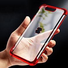Custodia Silicone Trasparente Ultra Sottile Morbida T09 per Xiaomi Black Shark Rosso