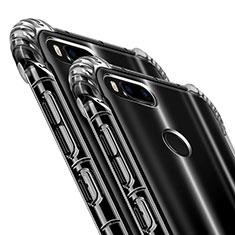 Custodia Silicone Trasparente Ultra Sottile Morbida T09 per Xiaomi Mi A1 Chiaro