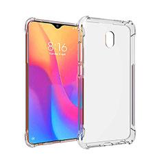 Custodia Silicone Trasparente Ultra Sottile Morbida T09 per Xiaomi Redmi 8A Chiaro