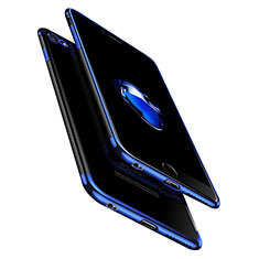 Custodia Silicone Trasparente Ultra Sottile Morbida T10 per Apple iPhone 6 Plus Chiaro