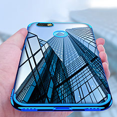 Custodia Silicone Trasparente Ultra Sottile Morbida T10 per Huawei Enjoy 7 Chiaro