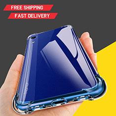 Custodia Silicone Trasparente Ultra Sottile Morbida T10 per Huawei Y6 (2019) Chiaro