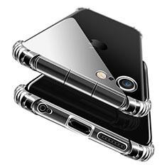 Custodia Silicone Trasparente Ultra Sottile Morbida T11 per Apple iPhone 6 Plus Blu