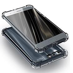 Custodia Silicone Trasparente Ultra Sottile Morbida T11 per Huawei Honor 9 Chiaro
