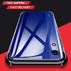 Custodia Silicone Trasparente Ultra Sottile Morbida T11 per Huawei Y6s Nero
