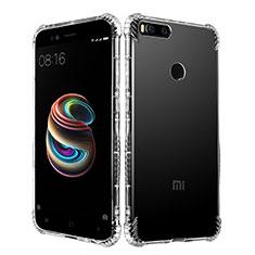 Custodia Silicone Trasparente Ultra Sottile Morbida T11 per Xiaomi Mi 5X Chiaro