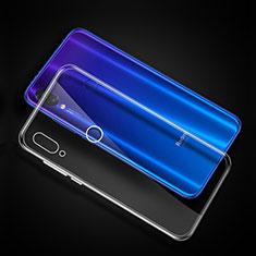 Custodia Silicone Trasparente Ultra Sottile Morbida T11 per Xiaomi Redmi Note 7 Chiaro