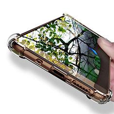 Custodia Silicone Trasparente Ultra Sottile Morbida T12 per Huawei Mate 10 Chiaro